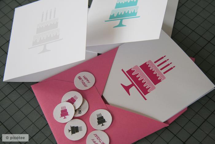 Geburtstagskarten-Set