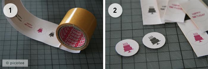 Sticker Anleitung