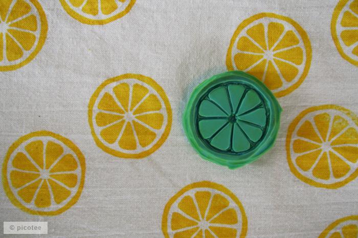 picotee / Stempel-Zitrone