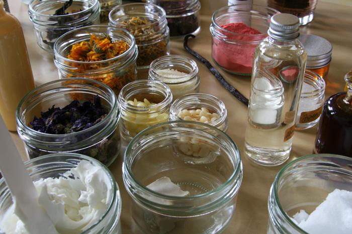 picotee / workshop naturkosmetik material