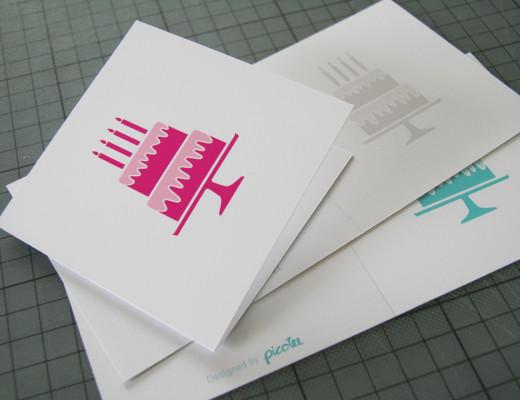 picotee / Geburtstagskarten Freebie