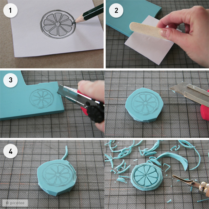 Gut gemocht Stempel Tutorial - picotee MM14